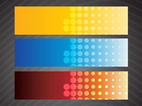 abstract banner vectors eps png jpg svg format