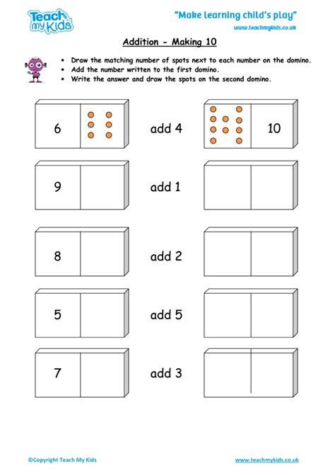 printable worksheets 187 make 10 worksheets printable