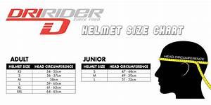 Dririder Helmet Size Chart The Honda Shop