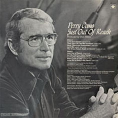 perry como just out of reach cd just out of reach unreleased tracks
