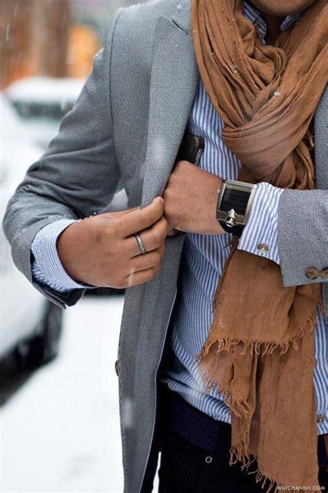 comment porter une echarpe homme conseils de style comment bien porter une echarpe pour homme jamais vulgaire mode