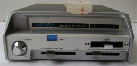 Audiovox Grand Sales Underdash Car Stereo