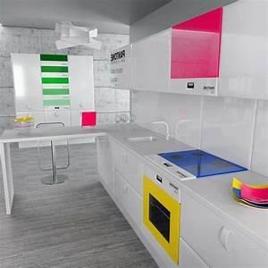 Farbe Für Waschküche : effektvolle k chengestaltung mit farbe ~ Sanjose-hotels-ca.com Haus und Dekorationen