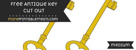 Antique Key Cut Out
