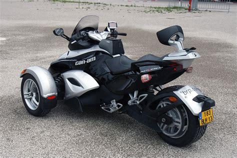 motorrad mit 3 räder bilder motorrad mit drei r 228 dern der brp can am spyder