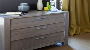 peindre un meuble ancien idee peinture beton cire With carrelage adhesif salle de bain avec chaise gaming led