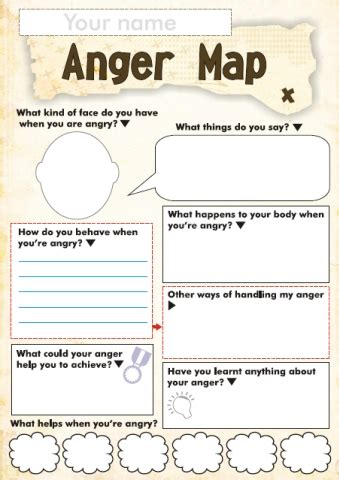 anger  feelings worksheets  kids