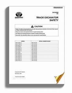 Daewoo Track Excavator S470 Shop Manual