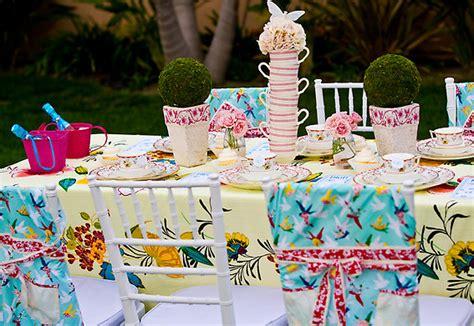 tea party table settings ideas garden tea party design dazzle