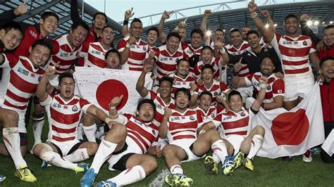 rugby world cup   men  japans success cnncom