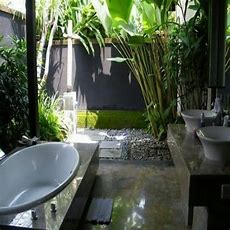 Outdoor Bathrooms And Indoor Gardens  Gardens, Bathroom
