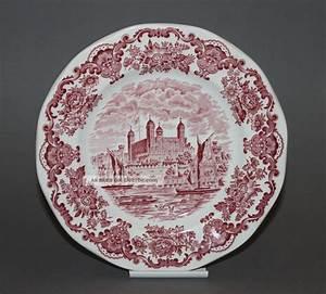 Wedgwood Porzellan Alte Serien : ein speiseteller 19 5 cm royal homes of britain von enoch wedgwood ~ Orissabook.com Haus und Dekorationen