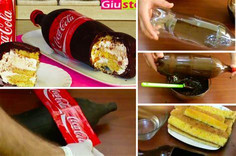 la recette du spectaculaire g 226 teau en forme de bouteille coca la recette