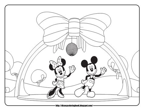 mickey mouse clubhouse   disney coloring sheets