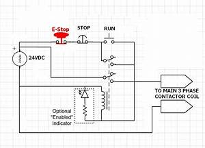 How Do I Install An E Stop Button Switch In A Box