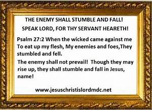 www.jesuschristislordmdc.net, - THE ENEMY SHALL STUMBLE ...