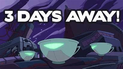 Days Left Countdown Cartoon Hangover Three Gifs