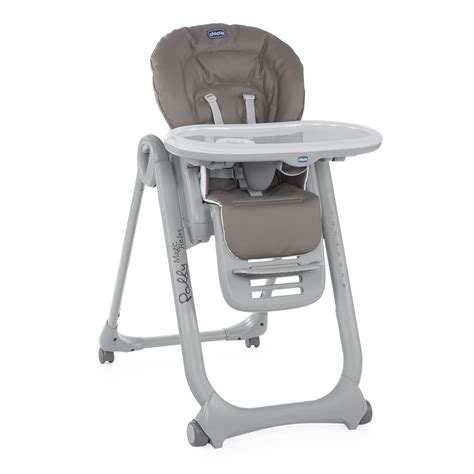 chaise polly magic 3 en 1 chicco highchair polly magic relax 2018 dove grey buy at