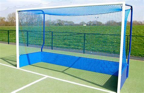 hanging london blue hockey goal nets single net world sports