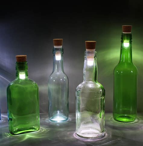 rechargeable bottle light by all things brighton beautiful ...