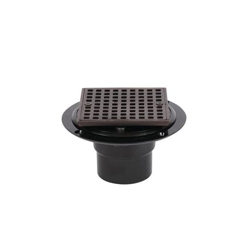 abs shower drain oatey abs shower drain with square 4 3 16 in rubbed
