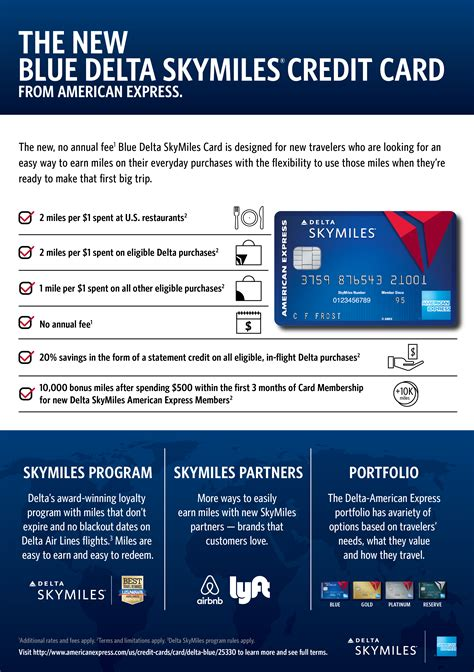 The delta skymiles platinum american express card ranked as select's best airline credit card for flying delta because it offers several travel perks, such as an annual companion travel certificate, first checked bag free on delta flights for you and your companions on the same reservation (maximum. American Express and Delta serve up new, no annual fee Blue Delta SkyMiles® Credit Card ...