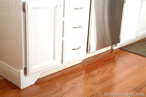 Decorative Accents Kitchen Base Cabinets With Feet In