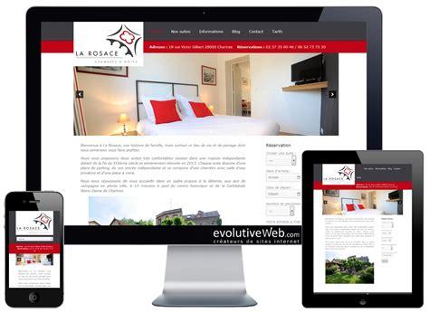 chambres d hotes chartres centre ville site vitrine avec pour la rosace à chartres nos réalisations evolutiveweb com