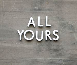 all yours vintage push pin letters sign valentine39s With push pin letters