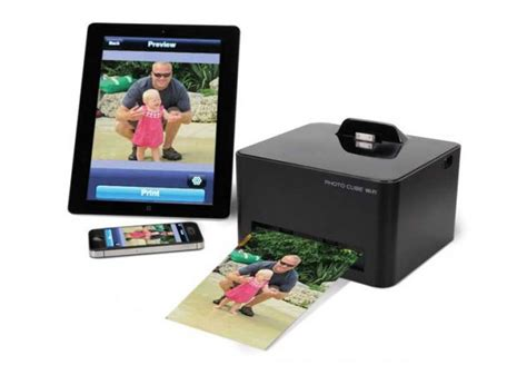 smartphone photo cube printer photo cube inkless smartphone wireless photo printer
