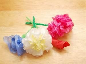 Papierblumen Aus Servietten : papierblumen selber basteln dansenfeesten ~ Yasmunasinghe.com Haus und Dekorationen