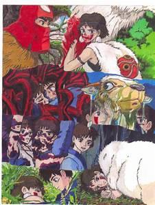 Princess Mononoke San-Ashitaka by princessmononokesan on ...