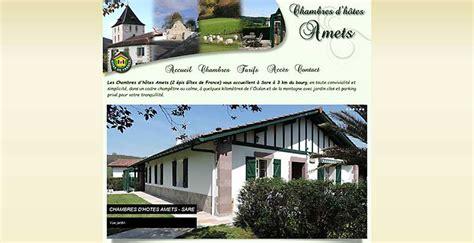 chambre d hotes pays basque fran軋is chambres d 39 hôtes de charme pays basque