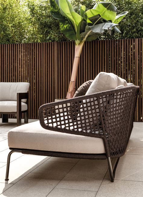 Loveseat Lounge by Aston Quot Cord Quot Outdoor Sofas From Minotti Architonic