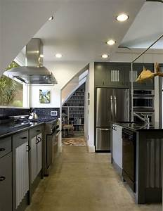 Quonset hut kitchen industrial kitchen other metro for Kitchen cabinet trends 2018 combined with hut sticker