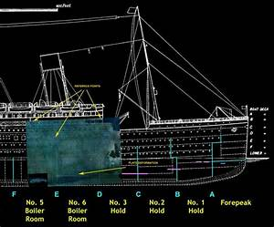 ship39s name on the wreck was i just noticed this With how many floors did the titanic have