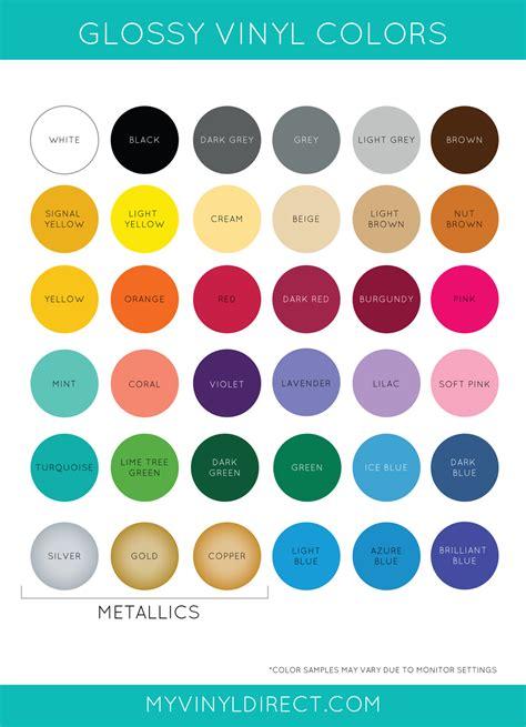 oracal 651 color chart gloss vinyl oracal 651 my vinyl direct