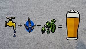 Water Grain Hops T Shirt Astoria Brewing Company