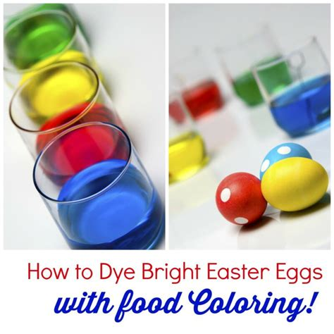 dye bright easter eggs  food coloring ebay
