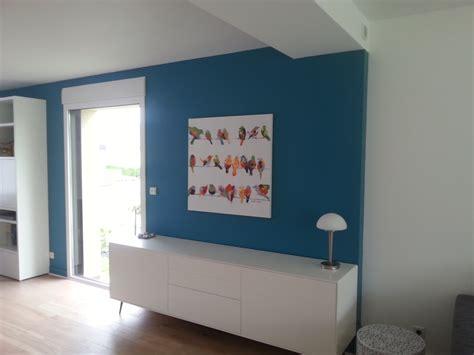 cuisine gris et bleu salon séjour cage d 39 escalier acigné 35