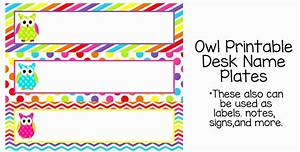 7 Best Of Owl Tables Labels Printable Free Example Table Name Tags Template Printable Fresh Pdf