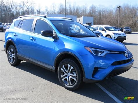 Toyota Rav4 Electric by 2016 Electric Blue Toyota Rav4 Le 109908807 Photo