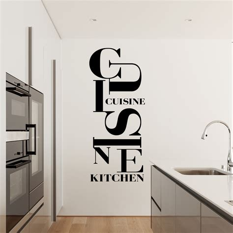 stickers muraux cuisine sticker design cuisine kitchen stickers cuisine textes