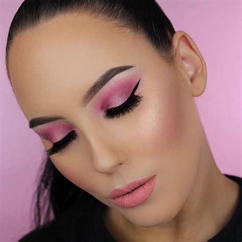 pretty pink makeup   makeup tutorials   inspire     girly makeup