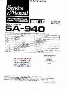 Pioneer  U2013 Diagramasde Com  U2013 Diagramas Electronicos Y