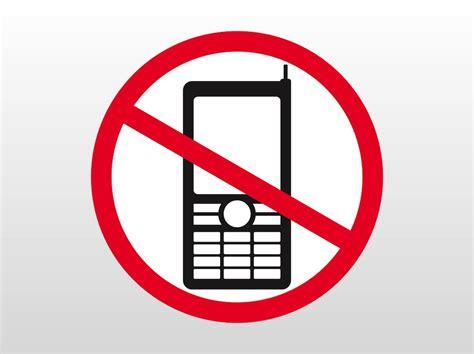 No Phones Sign Vector Art And Graphics