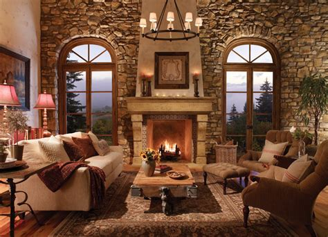 El Dorado Fireplace Surrounds   Traditional   Living Room   Sacramento   by Rustic Fire Place