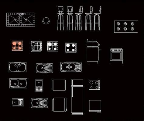 Kitchen Furniture Dwg Block For Autocad • Designs Cad
