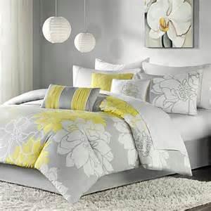 Home Design Alternative Comforter Park Lola Comforter Set Gray Yellow 10063823 Hsn