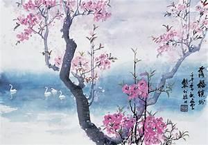 Chinese Painting Cherry Blossom | www.pixshark.com ...